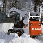 Уборка снега в Рузе