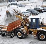 Вывоз снега в Рузе