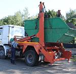Вывоз мусора контейнером в Рузе
